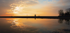 Kew Reflection (Faron Dillon) Tags: sunrise toronto ontario kew woodbine sony canon a7r iii a7riii