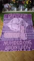Make up blanket for Grainne (dochol) Tags: crochethook crochet croche makeup lipstick lips personalised name alphabet crafts cute handmade homemade handcrafted haakwerk hakeln haakenwert haak tejer creative