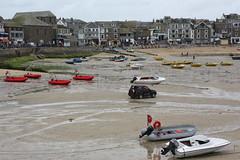 St Ives: Harbour (Helgoland01) Tags: cornwall england uk stives hafen harbor port atlantik atlantic boot boat