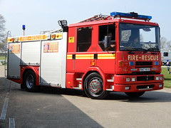 1998 Dennis Sabre Rescue Pump (andrewgooch66) Tags: classic vintage veteran heritage preserved emergency fire ambulance firstaid tender appliance pump rescue ladder