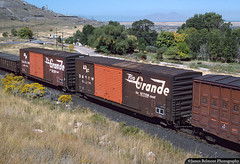 Outbound From Magna (jamesbelmont) Tags: riogrande drgw midvaletramp magna utah boxcar copper kennecottcopper railroad railway train