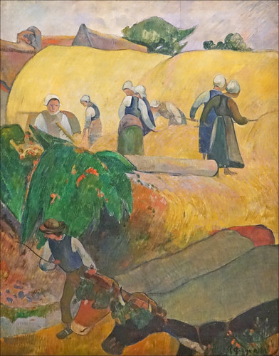 Les Meules de Paul Gauguin (Fondation Vuitton, Paris)