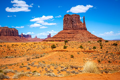 West Mitten (Mimi Ditchie) Tags: monumentvalley westmitten themittens butte valley clouds arizona utah redearth buttes getty gettyimages mimiditchie mimiditchiephotography