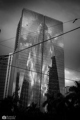 Day 11 of 365-Theme: 2 photos (B/W and Color) (andanzasderuthie) Tags: 365project 2019 bw architecture building brickell