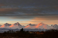 This evening (tatranka7) Tags: landscape mountain sunset evening colors winter snow atmosphere