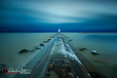 Longing for Light (andrewslaterphoto) Tags: andrewslaterphotography clouds cold greatlakes harbor ice lakemichigan landscape lighthouse manitowoc morning sheboygan snow sunrise water winter wisconsin unitedstates us canon 5dmarkiii leefilter