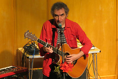 Jez Lowe & The Bad Pwnnies With Benny Graham (taptonted617) Tags: jez lowe ba pennies benny graham cchesterfield library 2016 folk music musician