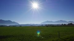 Herbst Hochgern Hochplatte Kampenwand (Aah-Yeah) Tags: herbst autumn übersee achental chiemgau bayern sonne sun hochgern hochlerch hochplatte kampenwand
