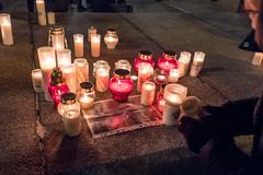 untitled (gregor.zukowski) Tags: warsaw warszawa demonstration vigil evening mourning commemoration paweladamowicz adamowicz poland polska fujifilm