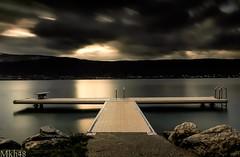 Fidèle au poste (paul.porral) Tags: longexposure poselongue lake landscape flickr ngc water annecy