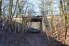 Straßenbrücke der B75 bei Kakensdorf (über ehem. Bahnstrecke ) (k4t30) Tags: stillgelegtebahnstrecke buchholz bahnstreckebremervördebuchholz