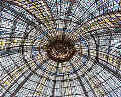 Paris Ceilings (Melanie Alexandra Photography) Tags: paris france parisphotography glassdome stainedglass architecture