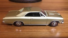 1966 Chevrolet Chevelle SS 396 1/64 Auto World (Eunus El Ya) Tags: american muscle car cars toy diecast model 164 auto world round 2 drag racing road tracks racer general motors gmc pontiac chevrolet cadillac buick oldsmobile 1966 60s chevelle ss 396 chevy 1960s