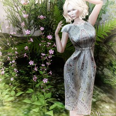 Siss Boom : Nelly Don - Dress (Ombrebleue Winsmore) Tags: sissboom casual dress fashion couture