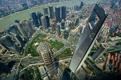 Shanghai - Top of Shanghai (cnmark) Tags: china shanghai pudong new area lujiazui financial district jin mao tower world center swfc huangpu river famous scenic landscape cityscape skyscraper wolkenkratzer gratteciel grattacielo rascacielo arranhacéu 中国 上海 浦东 陆家嘴 黄浦江 金茂大厦 上海环球金融中心 ©allrightsreserved