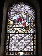 Orx, Landes: église Saint-Martin, vitrail signé Dagrand de Bordeaux, 1921 (Marie-Hélène Cingal) Tags: france sudouest 40 landes aquitaine nouvelleaquitaine macs orx