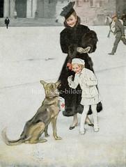 X990022 arbeitshund deutschland (stadt + land) Tags: hunde hund bilder fotos arbeitshund historisch früher aufgabe transport alte fotografien