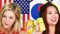 Americans & Koreans Swap Drinks (devtwin) Tags: food video