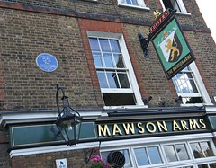 Fullers Brewery - Chiswick, and The Mawson Arms (nick.harrisonfli) Tags: london beer brewery brewers drink ale realale openplaques:id=99