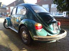 1972 Volkswagen Beetle 1300 (Neil's classics) Tags: vehicle 1972 volkswagen beetle 1300 vw car