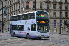First Manchester 37290 MX07BTF (Clifton009) Tags: first manchester 37290 mx07btf volvo b9tl wrightbus eclipse gemini