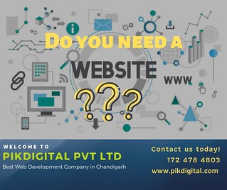 Best Web Development Company in Chandigarh - PikDigital