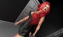 # 302 LSR MODA / JUNA TATTOO (Mysterieuse Lady) Tags: lsr moda dress mayeli exclusive dubai event juna tattoo lory