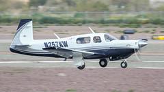 Mooney M20K N257KW (ChrisK48) Tags: kdvt phoenixaz mooneym20k aircraft n257kw dvt airplane phoenixdeervalleyairport