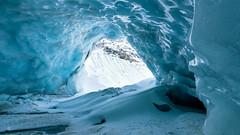 _DSC9718-Modifier (AneBarre) Tags: ice cave caverne moutain montagne glacier blue bleu hiver alpes valais suisse explore