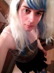 selfie (Night Girl (my feminine side) :)) Tags: crossdress cd crossdressing cute cross dress dresser girly boy femboy feminine fun me girl