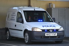 NK07 FHP (S11 AUN) Tags: durham constabulary vauxhall combo police collision investigation unit ciu clevelanddurham specialist operations cdsou 999 emergency vehicle nk07fhp