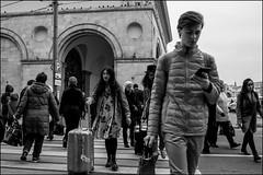 DRD161006_0991 (dmitryzhkov) Tags: urban outdoor life human social public stranger photojournalism candid street dmitryryzhkov moscow russia streetphotography people bw blackandwhite monochrome terminal