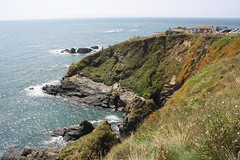 Lizard Point, Cornwall mit den vorgelagerten Felsen Velan Drang, Taylor's Rock, Snag Rock und Man O'War (Helgoland01) Tags: lizardpoint england cornwall uk atlantik atlantic landschaft landscape
