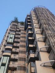未完工的建築 Unfinished building (葉 正道 Ben(busy)) Tags: taiwan taichung building metal 台灣 台中 建築 金屬 architecture