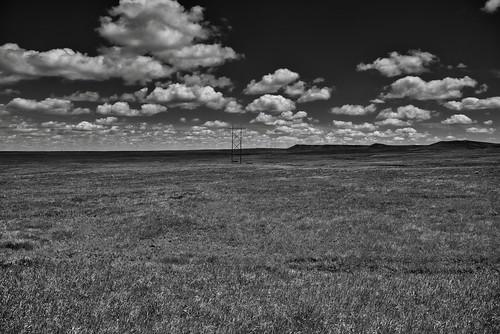 Big Skies Dakota! (Black & White)