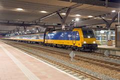 NS 186 028 Rotterdam Centraal (daveymills37886) Tags: ns 186 028 rotterdam centraal baureihe traxx bombardier ms2e