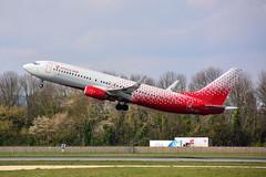 (ORY)Rossiya  Boeing 737-800  VP-BOH  Take off 24 (dadie92) Tags: orly rossiya b737 boeing lfpo b737800 takeoff vpboh spotting aircraft airplane ory nikon d7100 sigma tamron danieldanel
