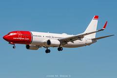 Norwegian B737-8JP LN-NGD (José M. Deza) Tags: 20190404 b7378jp bcn boeing elprat lebl lnngd norwegain planespotting spotter aircraft