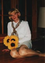 Skirt and blouse (Marie-Christine.TV) Tags: feminine transvestite lady mariechristine tight skirt engerrock bluse blouse secretary sekretärin elegant tgirl tgurl dame