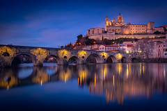 Beziers (giualia) Tags: france occitane linguadoca blu blusky ponte nikonflickraward saariysqualitypictures
