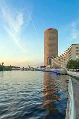 Tampa (shultstom) Tags: tampa hillsborough river skyscape skyline urban florida