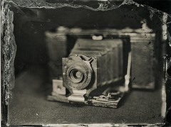 img297 (Adam Clark Photography) Tags: wetplate collodion 4x5 largeformat intrepid 180mm fujinon mamiya kodak brownie camera stilllife tlr monochrome