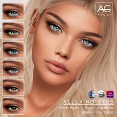 Alluring Eyes (Avi-Glam) Tags: aviglam ag mesh eyes catwa omega genus appliers