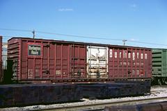 CB&Q Class XML-11 49538 (Chuck Zeiler 54) Tags: cbq class xm4c xml11 49538 burlington railroad boxcar box car freight eola train chuckzeiler chz