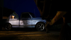 Sin City Chevrolet. (heresthething...) Tags: chevrolet city sin pickup c10 truck night classic dark available light auto micro43rds g7