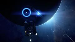 Elite Dangerous (devilish canary) Tags: elite dangerous planet light space galaxy frontier station