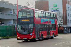 Go Ahead London . WVL272 LX06ECF . Harlow Bus Station , Essex . Wednesday 13th-March-2019 . (AndrewHA's) Tags: harlow essex bus station go ahead london general commercial services fleet wvl 272 lx06ecf volvo b7tl wright wrightbus eclipse gemini route 575 romford
