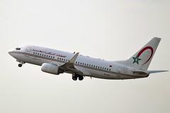 RAM Royal Air Maroc CN-RNL Boeing 737-7B6 Winglets cn/28982-236 @ EBBR / BRU 17-08-2018 (Nabil Molinari Photography) Tags: ram royal air maroc cnrnl boeing 7377b6 winglets cn28982236 ebbr bru 17082018