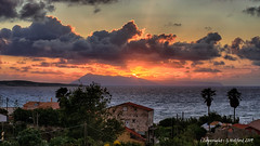 Corfu Sunset (Holfo) Tags: 2017 corfu greece spring sunset nikon d5300 clouds spectacular favourite place lovely glorious sunsetview sunsetlight lovelysunset trees dwelling coastal holiday seaview oceanview stunning greekview edge lastglimpse memories remember paradise favouriteplace perfect