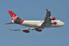 'VS15N' (VS0015) LGW-MCO (A380spotter) Tags: takeoff departure climbout gearinmotion gim retraction belly boeing 747 400 gvrom barbarella cp2603 virginatlantic vir vs vs15n vs0015 lgwmco runway08r 08r london gatwick egkk lgw